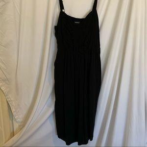 Torrid Black dress with pockets. Size 1X